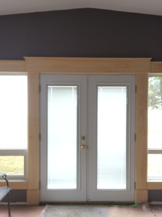 lake front custom trim