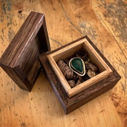 ring box with ring!